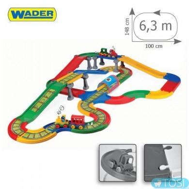 "Городок Wader ""Kid Cars""  6,3 м"
