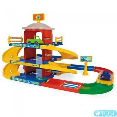 """Паркинг 3 этажа Wader (""""Kid Cars 3D"""" 4,6 м)"""