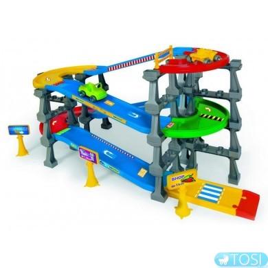 """Эстакада 5 уровней Wader """"Kid Cars 3D""""  (3,7 м)"""