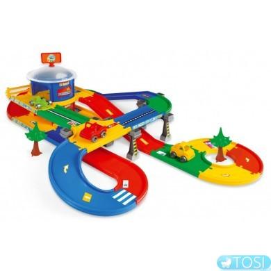 """Гараж з трассою Wader """"Kid Cars 3D"""" (5,5 м)"""