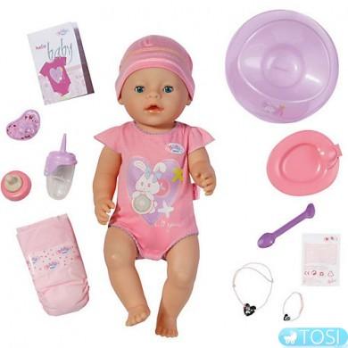 """Кукла Baby Born """"Очаровательная малышка"""" (43 см, с чипом и аксессуарами)"""