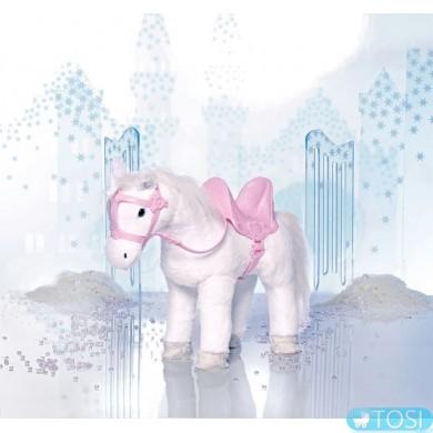 Интерактивная белая лошадка для куклы Baby Born Zapf Creation 820346