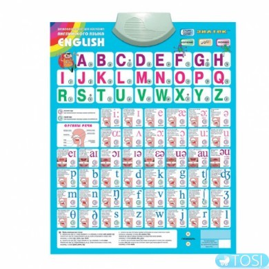 Говорящая азбука - Знаток (английский язык)
