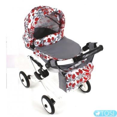 Игрушечная детская кукольная коляска Adbor Lily