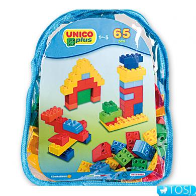 Конструктор Unico Plus 8555 64 детали