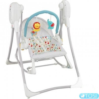 Кресло-качалка 3в1 Fisher Price Frekle Friends CCL87