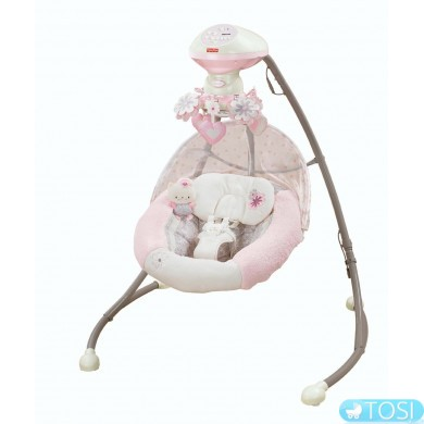 Кресло качалка Fisher Price My Little Sweetie W9510