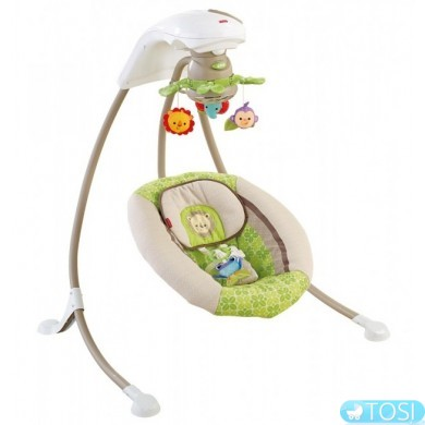 Кресло-качалка Fisher Price Rainforest Friends Deluxe Х7340
