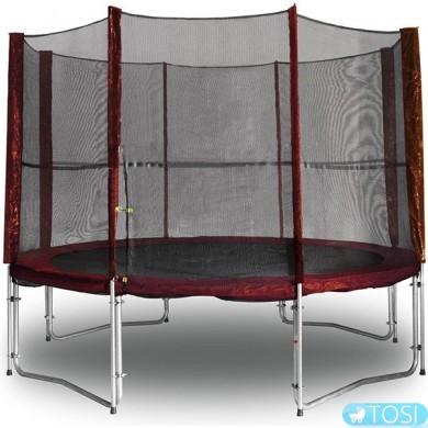 Защитная сетка для батута KIDIGO 426см Maroon