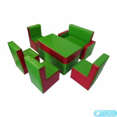 Комплект детской мебели Гостинка  Диван -1шт., Стул -4шт., Стол – 1шт.