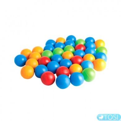 Шарики для сухого бассейна KIDIGO 8 см (мягкие)
