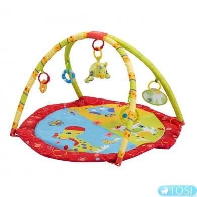 Детский развивающий коврик Зверята BabyOno 1156