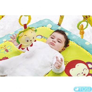 Детский развивающий коврик Зоопарк BabyOno 1155