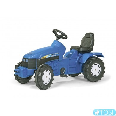 Педальный трактор Farmtrac NH TD 5050 Rolly Toys 036219