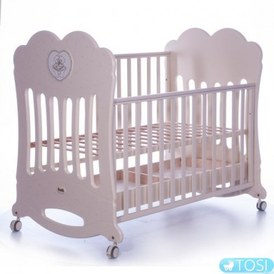 Детская кроватка Lettino Chaton Avorio Feretti