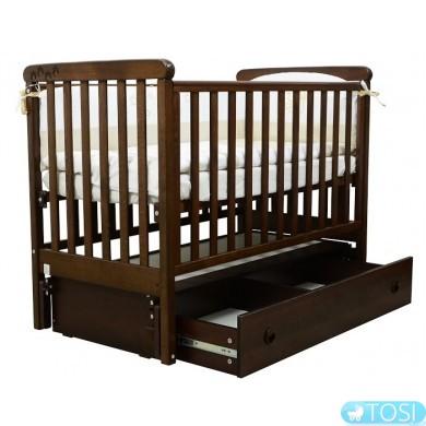 Детская кроватка Верес Соня ЛД12 (маятник,ящик)