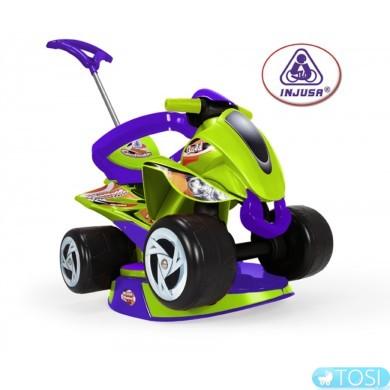 Детский квадроцикл каталка Pushtoy Quad Goliath Injusa 137