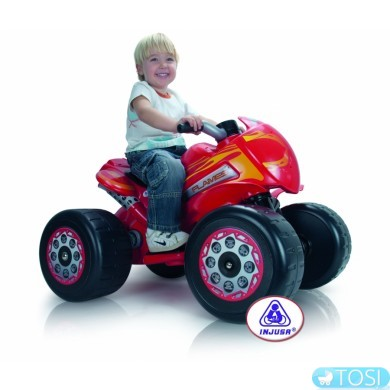 Детский квадроцикл Quad Flames 6V Injusa 728
