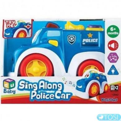 Полиция машинка музыкальная KEENWAY