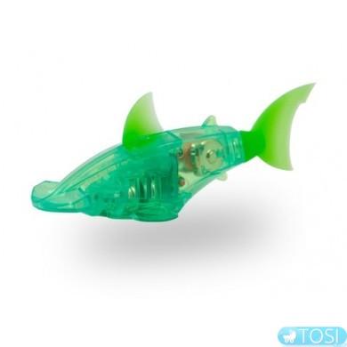 Микро-робот HEXBUG Аквабот Рыба-молот со световыми эффектами