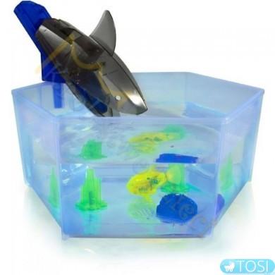 """Игровой набор HEXBUG с микро-роботом Аквабот """"Аквариум с акулой"""""""