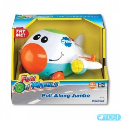 Веселый самолет игрушка музыкальная KEENWAY