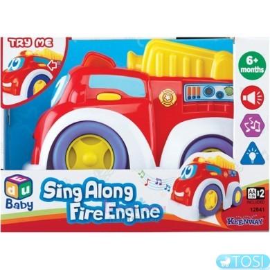 Пожарная машинка музыкальная KEENWAY