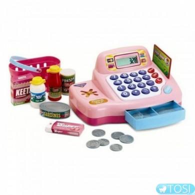 Кассовый аппарат (розовый) KEENWAY