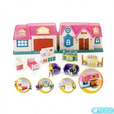 Кукольный дом игровой набор KEENWAY