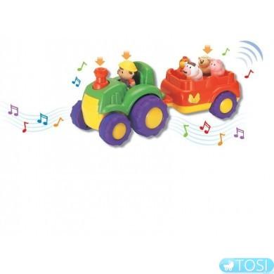 Трактор с прицепом музыкальный KEENWAY