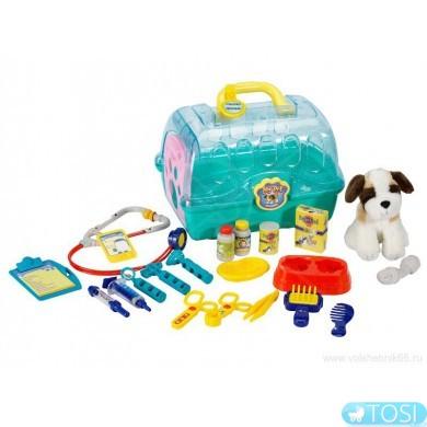Юный Ветеринар набор с собакой KEENWAY