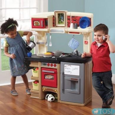 Интерактивная детская кухня с Окном Step2