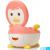 Babyhood Пингвин_pink