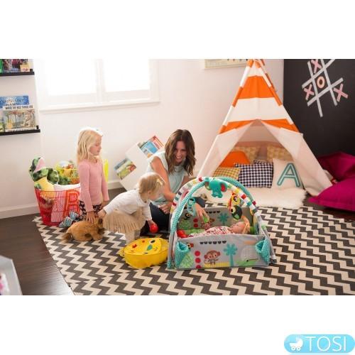 «Волшебный помощник новоиспеченных родителей» или Топ-4 преимуществ детских развивающих ковриков