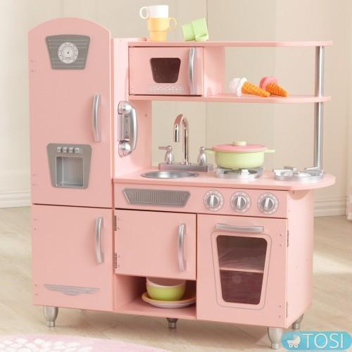 6c0bdba74163 Детская кухня KidKraft Pink Vintage 53179 купить в Киеве и Украине ...
