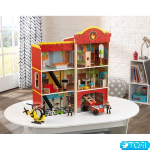 пожарная станция Kidkraft Wooden Fire Station 63459