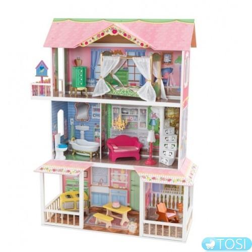 Зачем ребенку кукольный домик?
