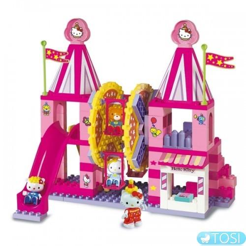 Конструктор Unico Plus Парк аттракционов Hello Kitty 114 деталей ... b5a06a82e7d