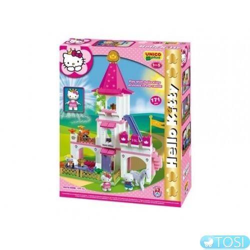 Конструктор Большой замок Hello Kitty Unico Plus 8676-00HK купить в ... 8f921ba2753