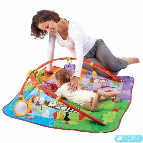 Развивающий коврик от Tiny Love – красивая и полезная игрушка для самых маленьких
